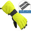 professional ski gloves waterproof gloves warm windproof  cycling gloves women men  for snowboarding skiing Size S-XL