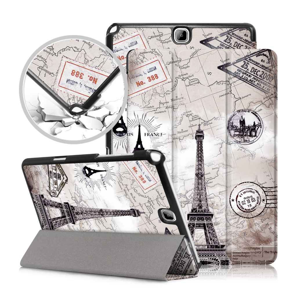 Leather Case For Samsung Galaxy Tab A 9.7 Inch SM-T550 SM-T555 SM-P550 SM-P555 Tablet Cover For Samsung Galaxy Tab A 9.7 Case