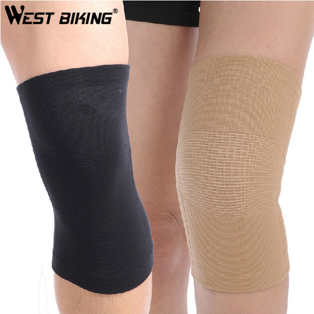 WEST BIKING High Elastic Sports Knee Brace Running Warm Mountaineering Men And Women Badminton Basketball Cycling Kneepads