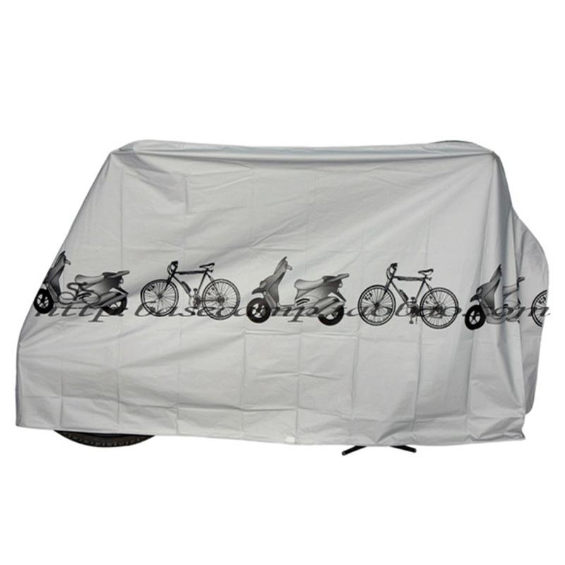 197X100cm Universal Motorcycle Waterproof Cover Motor Bike Moped Scooter Rain Dustproof Covers Outdoor UV Protector Case New