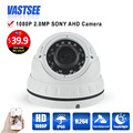 full hd 1080P AHD-H camera outdoor waterproof sony323 sensor dome vandalproof Night Vision 1920*1080 security cctv cameras