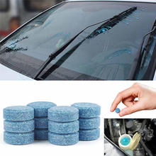 Mini New 1Pcs=4L Water Screen Cleaner Car Cleaning Car Cleaner Compact Glass Washer Detergent Effervescent Tablets(China)