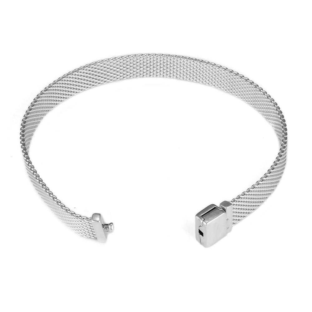 Image 5 - 2018 New Fashion Reflexions Bracelets for Women & Men DIY Beaded Bracelets Charms Belt Silver 925 Jewelry Reflexions Collection-in Charm Bracelets from Jewelry & Accessories
