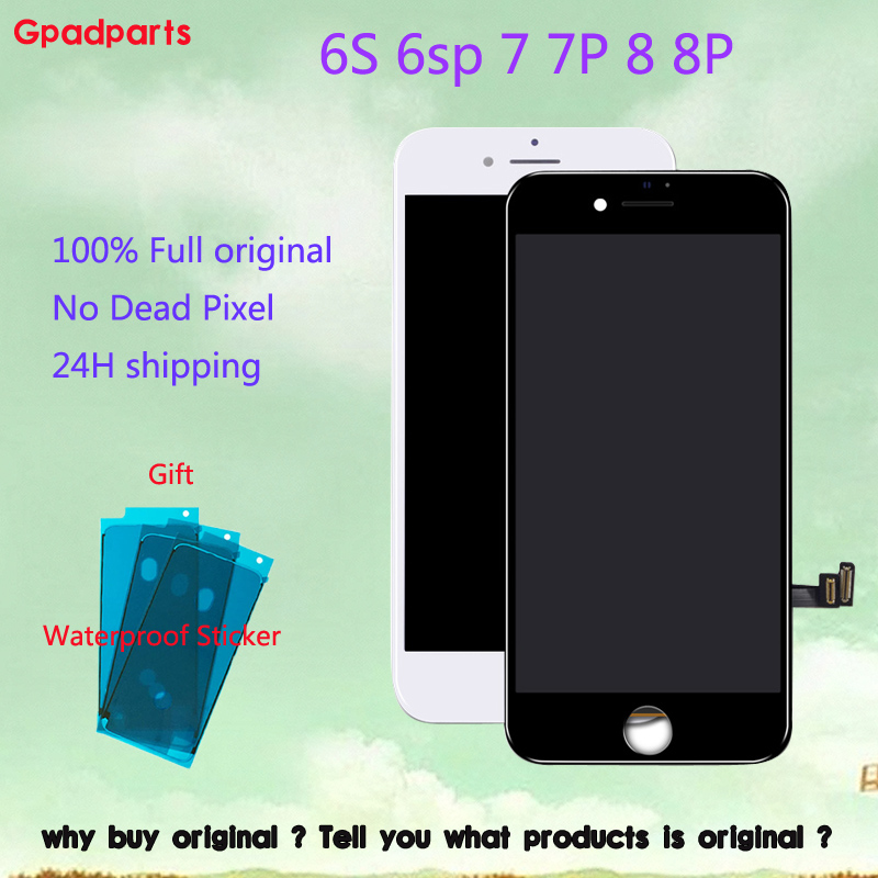 Original Used display For iPhone 8 7 plus lcd For Apple iphone 6S 7 8 LCD With 3D Touch Screen Digitizer Full Assembly PartsOriginal Used display For iPhone 8 7 plus lcd For Apple iphone 6S 7 8 LCD With 3D Touch Screen Digitizer Full Assembly Parts