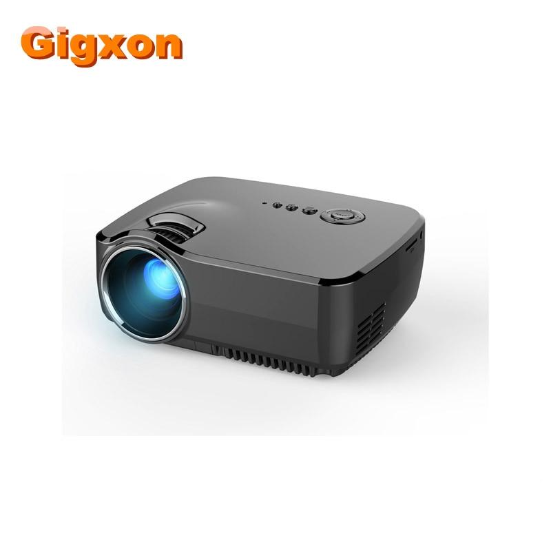 Gigxon Mini Portátil LED 3D Proyector de Cine En Casa HDMI Proyector Multimedia