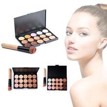 Укрыватели ежедневно исправить щеткой палитра комплекты устанавливает косметика макияжа камуфляж порошок