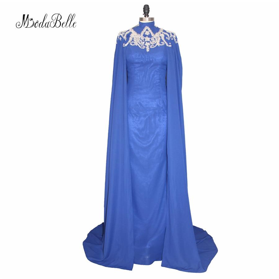 Modabelle Saudijska Arabija Muslim Večernja haljina s dugim Cape - Haljina za posebne prigode - Foto 1