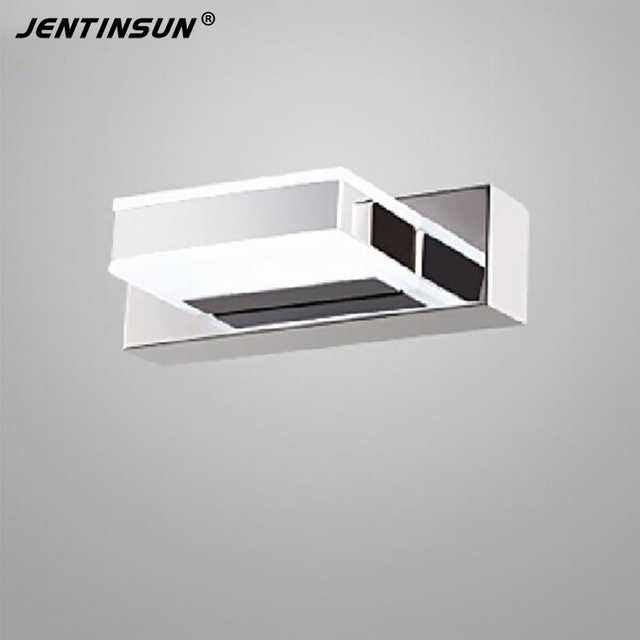 16cm 3W Indoor Lighting Bathroom Mirror Light Mini White Sconces Rotate Modern LED Wall Lamp Home