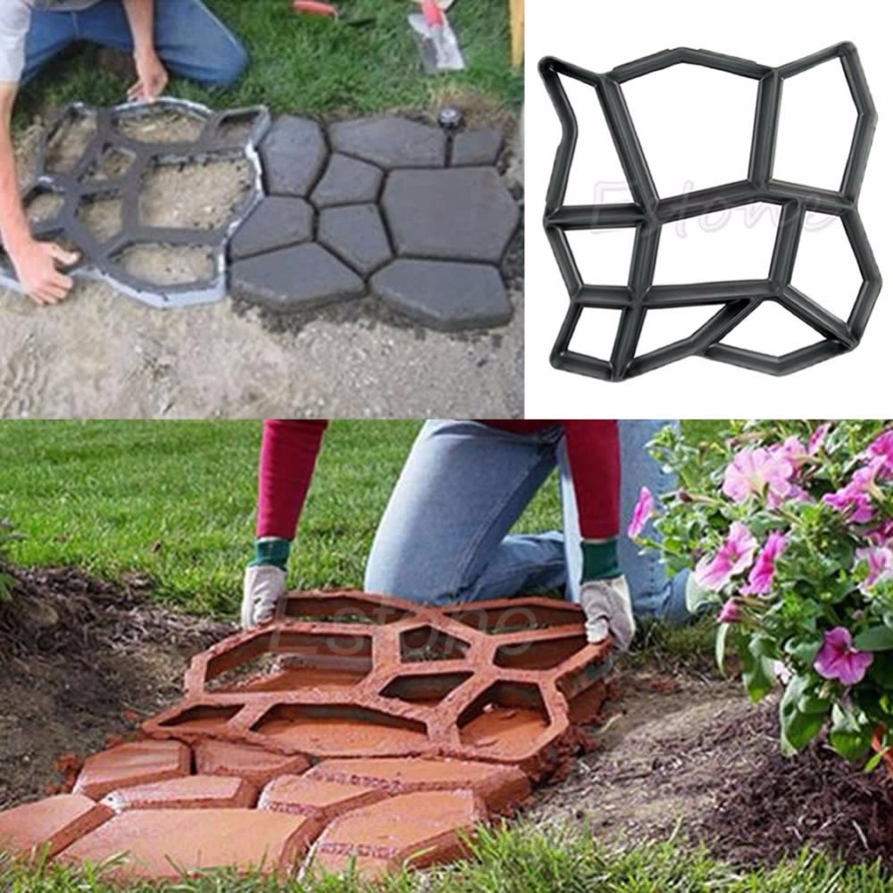 Free Shipping Driveway Paving Pavement Mold Patio Concrete Stepping Stone  Path Walk Maker On Aliexpress.com | Alibaba Group