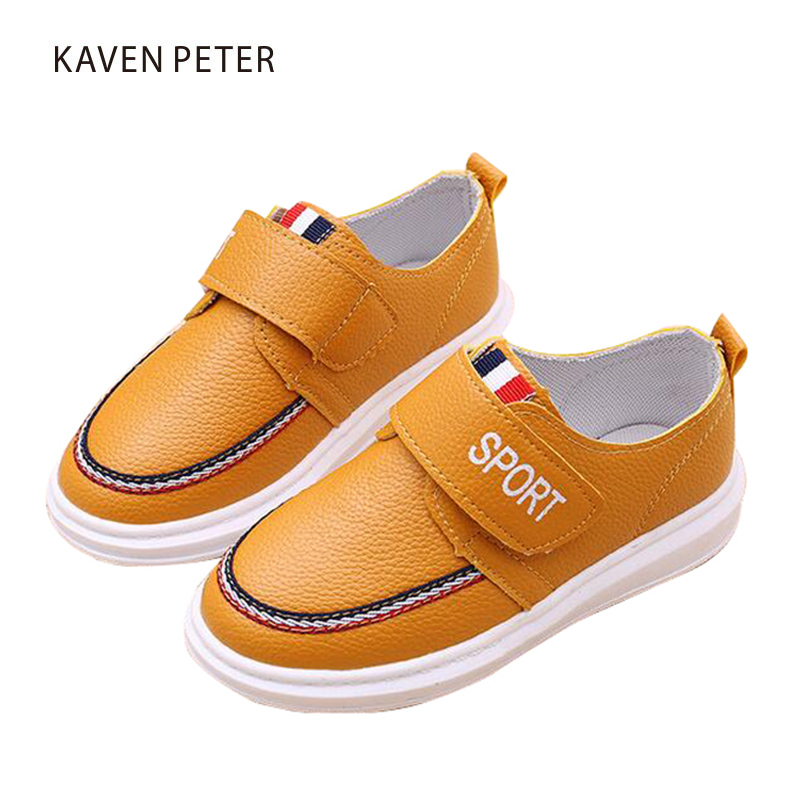 Classic kids casual sports shoes boys girls children Doug shoes Moccasin-gommino PU leather flat sneakers baby toddler shoes