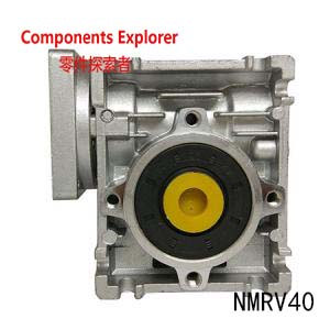 NMRV40 86mm worm gear reducer 6mm key and 18mm output ratio 10:1 for 17N.m below and suitable to work with NEMA34 Stepper MotorNMRV40 86mm worm gear reducer 6mm key and 18mm output ratio 10:1 for 17N.m below and suitable to work with NEMA34 Stepper Motor
