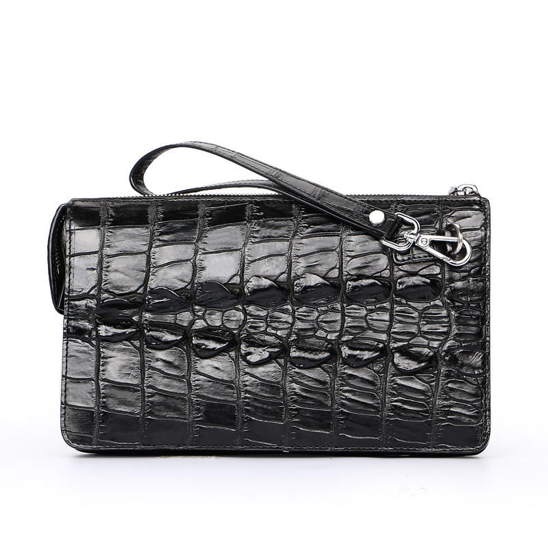 Fashion Real Crocodile Leather Men Clutch Bags Luxury Handbags Man  Alligator Bags Designer Genuine Leather Purses and HandbagsFashion Real Crocodile Leather Men Clutch Bags Luxury Handbags Man  Alligator Bags Designer Genuine Leather Purses and Handbags
