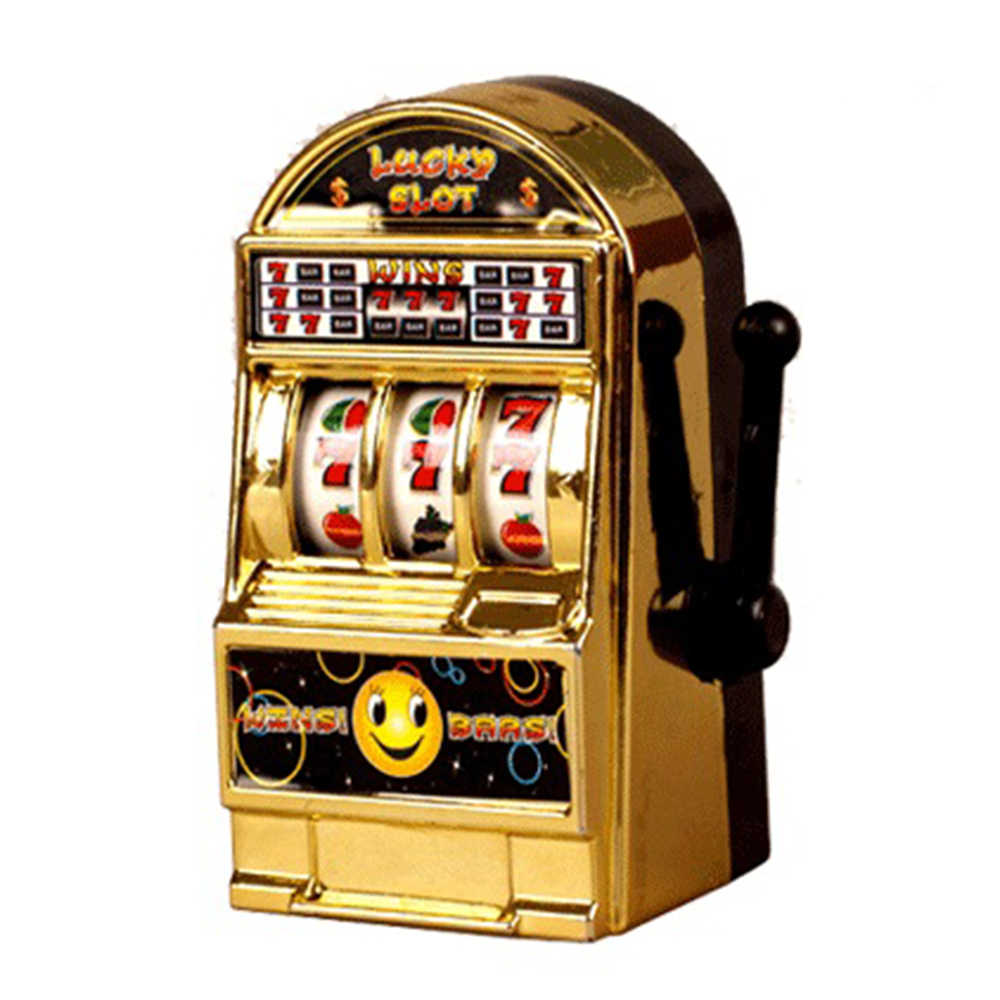 Vintage Mini Small Slot Machine Lucky Toy For Kid Children