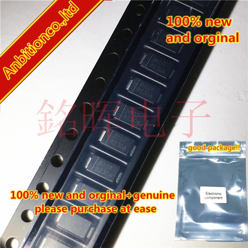 10-20pcs 100% New And Orginal SMA CD214A-B230LF Silk-screen B230A DO214AC In Stock