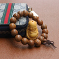 2017 High-grade Wenge wood Prayer Beads Bracelet Elastic Women & men Buddha Bracelet Buddhist prayer beads 12/15/18/20 MM