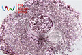 HM2104-264  Mix Pink jade Colors  Hexagon  shapes  Glitter for nail art ,nail gel, nail polish makeup and DIY decoration