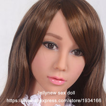 oral sex doll head,life size silicone sex dolls,month depth 13 cm,Fit body height:153,156,158,161,163,168cm
