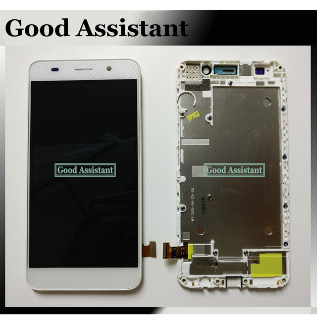 US $20 04 7% OFF|100% Tested 5 0 inch For Huawei Honor 4A Y6 SCL L01 SCL  L04 SCL L21 lcd Display + Touch Screen Digitizer Assembly With Frame-in