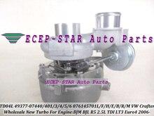TD04L 49377-07440 49377-07401 49377-07406 076145701F 076145701E Turbo For Volkswagen VW Crafter 2006- BJM BJL R5 LT3 2.5L 136HP
