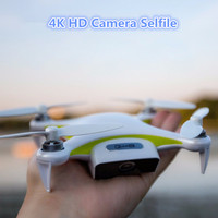 Selfile mini inteligencia profesional RC drone LEVA de flujo óptico 13MP 4 K HD Cámara RC inteligente portátil GPS Drone vs breeae dobby
