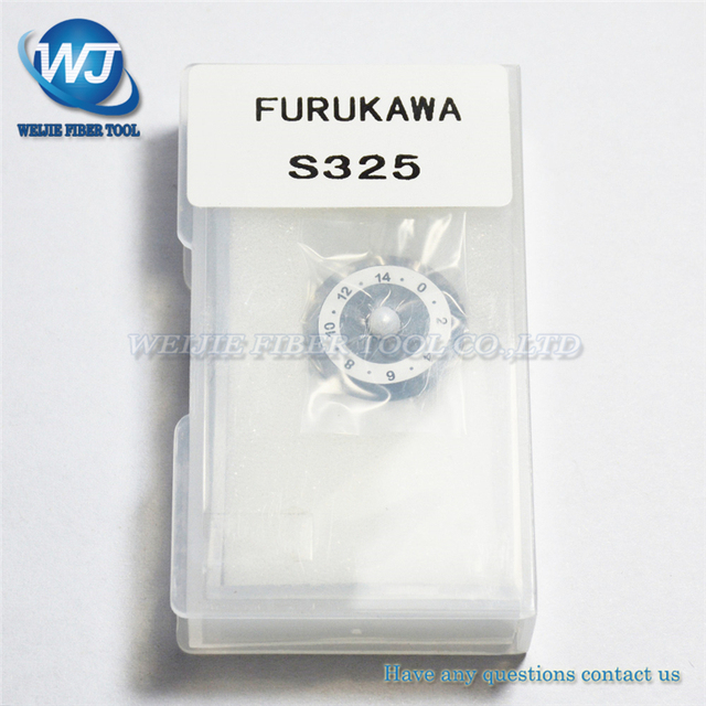 Furukawa Fitel סיבי קליבר Blade עבור S321/S323/S324/S325 סיבי קופיץ סיב אופטי חיתוך סכין להב