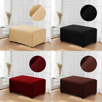 Lellen Footrest cover Sofa Cover seat slipcovers stretch Ottoman covers cheap Couch Protector Elastic Futon long bench Covers
