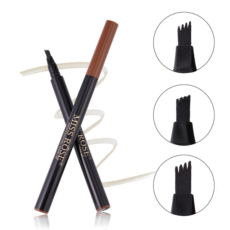 Microblading3 color eyebrow pencil waterproof fork sharp eyebrow tattoo pencil lasting professional fine eyebrow pencil