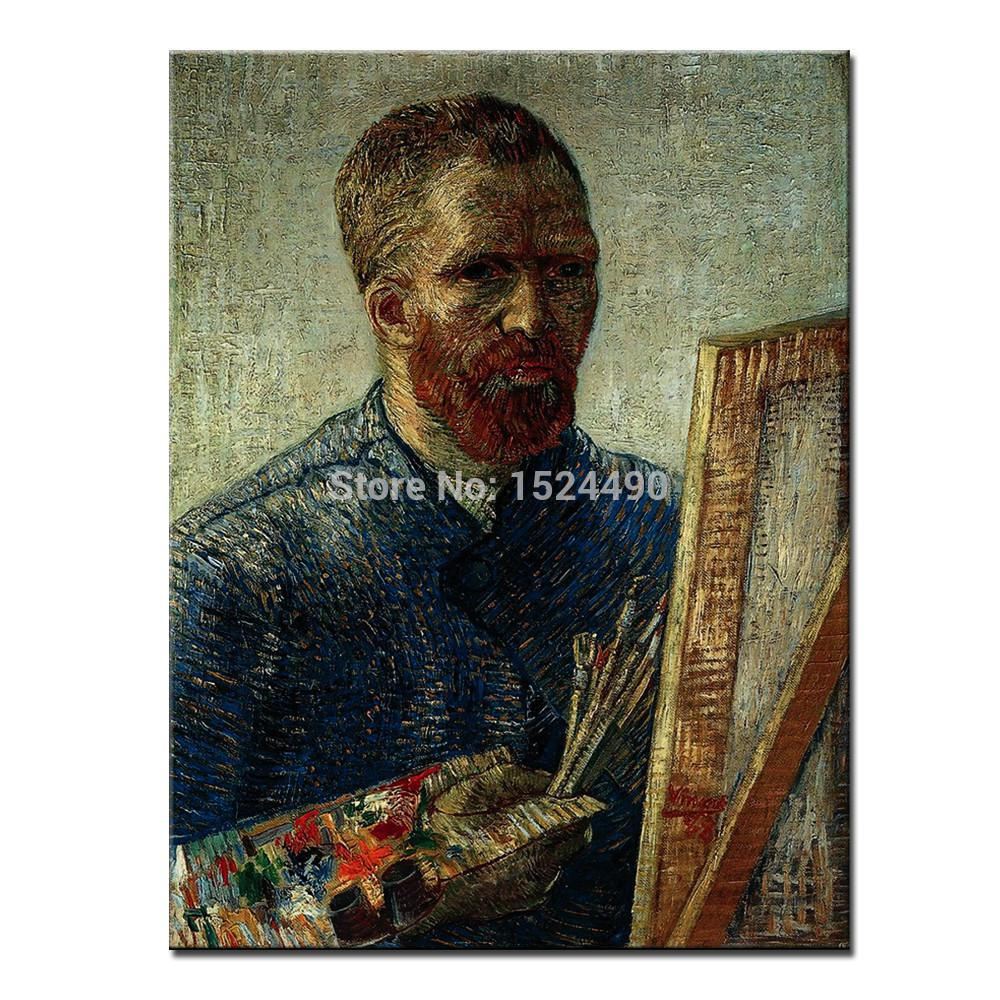 Free shipping hand painted world top famous paintings for Hand painted portraits from photos