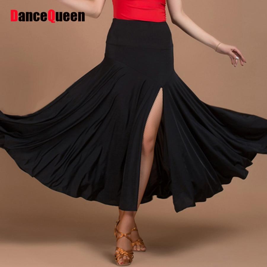 347eee8dd ̀ •́ 2017 nueva llegada faldas de baile de salón práctica ...