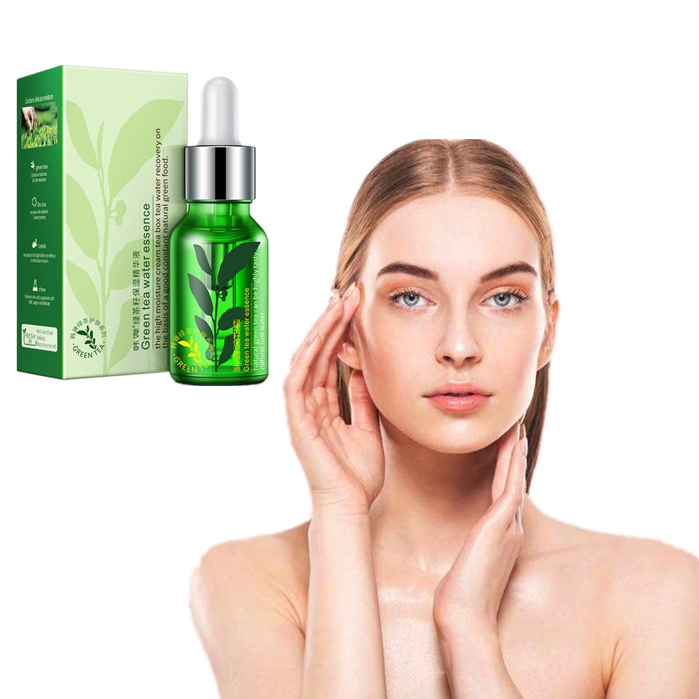 100% Nature Green Tea Skin Care Essence Moisturizing Anti-scar Whitening Shrink Pores Korean Facial Cream Tony Moly Cosmetics