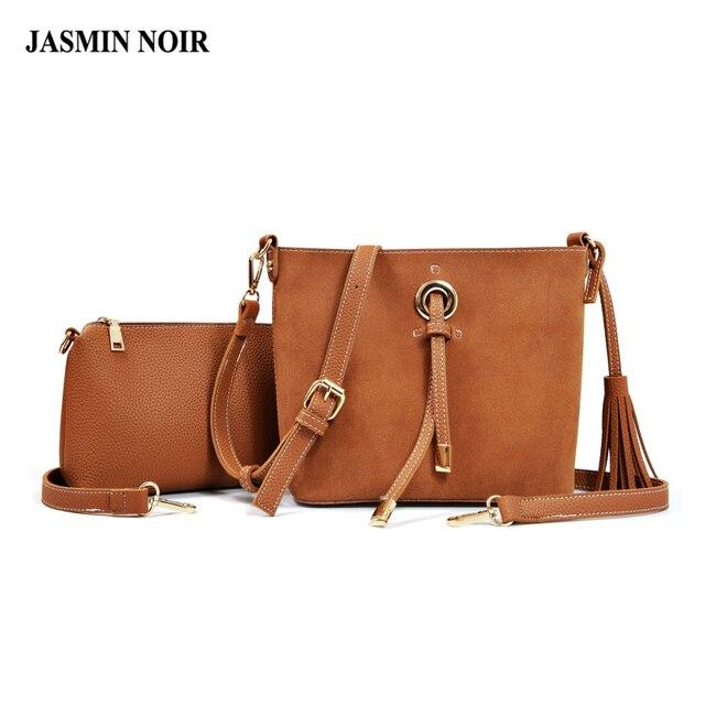 Tassel Bag Tote Shoulder Bags For Woman Designer Handbags And Purse Suede Cross Body Women