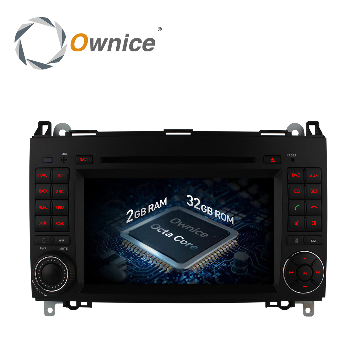 Ownice C500 Android 6,0 8 Core dvd-плеер автомобиля для Mercedes Sprinter W209 W169 W245 Viano Vito B-класс B150 B170 B200 A160 A180