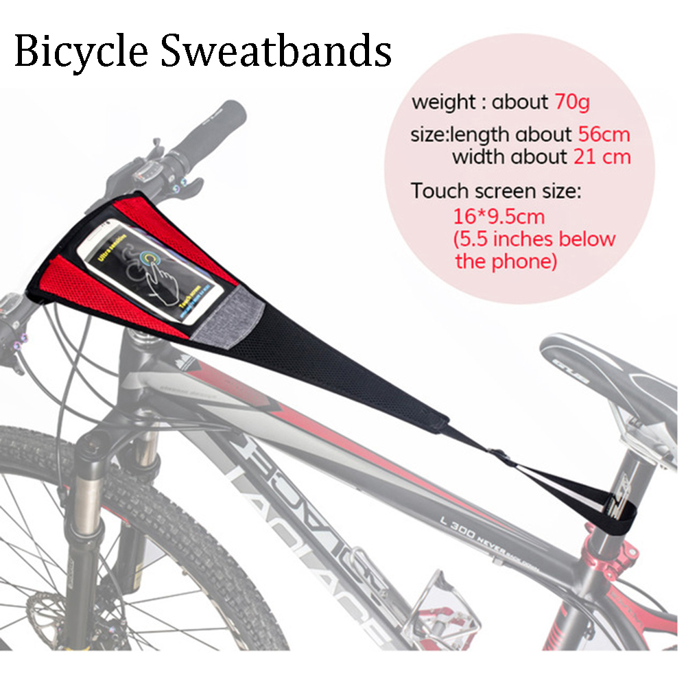 Sports Riding Bicycle Trainer Sweat Tape Net Strong Durable Bike Sweatbands