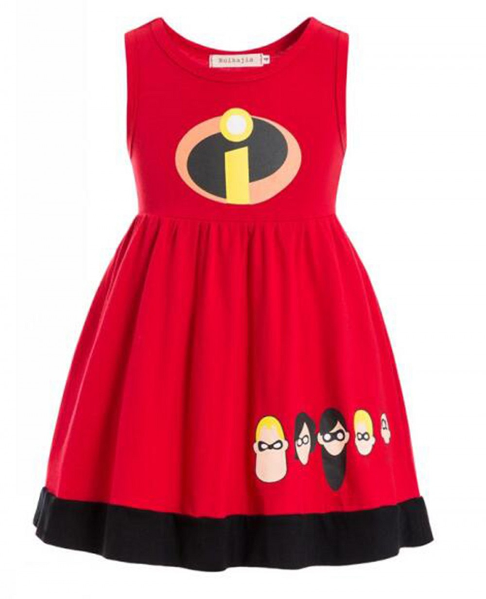 The Incredibles Kids Child Fancy Dress Party Halloween Costume Incredible Bodysuit Costume super hero costume dress for toddler
