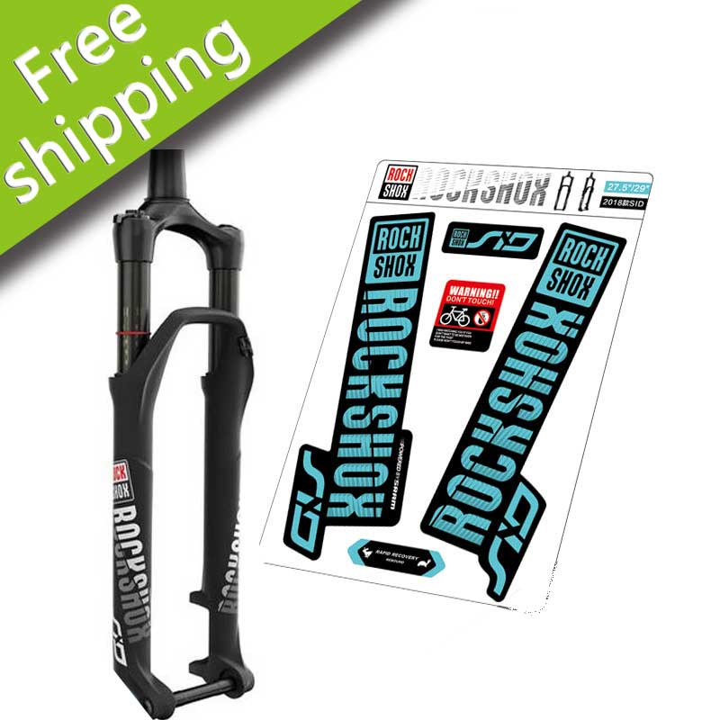 Mountain Bike front Fork stickers for ROCK SHOX SID PIKE BOXXER 26er 27.5er 29er Fork decals free shippingMountain Bike front Fork stickers for ROCK SHOX SID PIKE BOXXER 26er 27.5er 29er Fork decals free shipping
