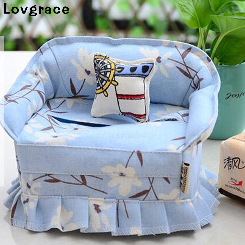 Analytical High Quality Flock Tissue Box Cute Cartoon Napkin Holder Cover Room Car Sofa Hotel Decor Paper Container Case Wedding Supplies Durable Service Tissue Boxes