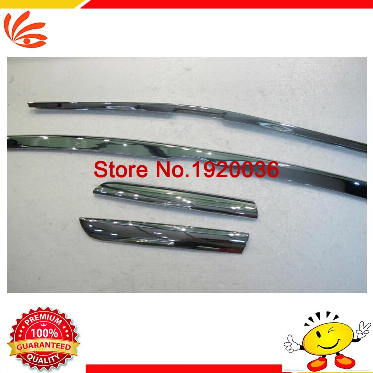 Car styling ABS Chrome Car Front Gille Trim Auto Grille Decoration Cover Trims for Toyota RAV4 2014-2015 car accessories abs chrome front grille around trim racing grills trim for toyota highlander 2012 2013 2014 car styling 1pc