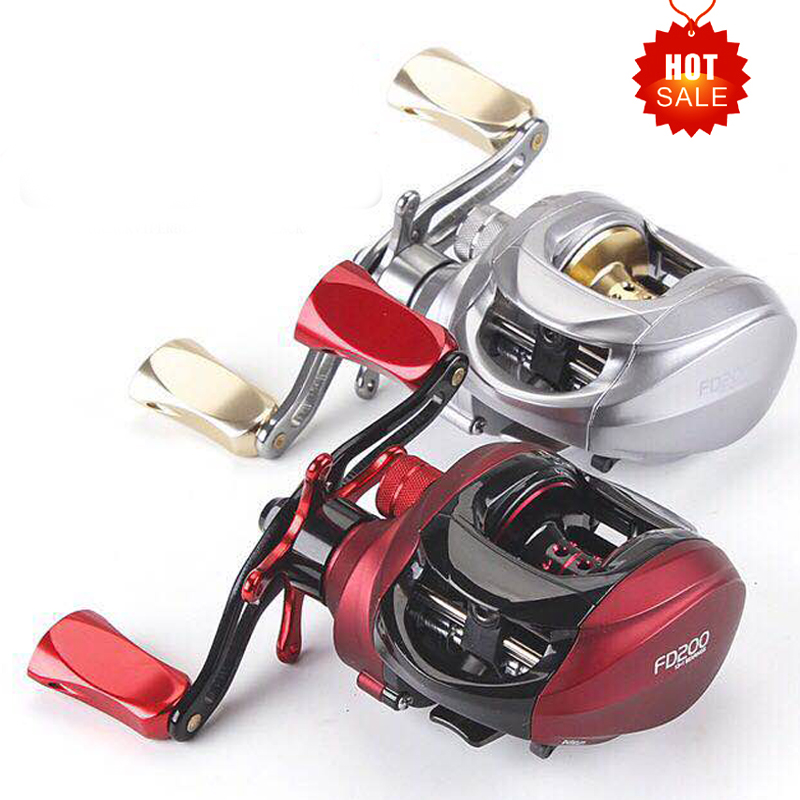Hu Ying Baitcasting Reel Left and Right Hand Optional Road Wheel Water Wheel Centrifugal Brake Metal Grip
