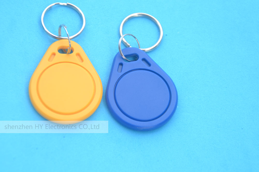 10 PCS 13.56MHz RFID IC Key Tags Keyfobs Token Keychain Waterproof Anti-corrosion Shockproof