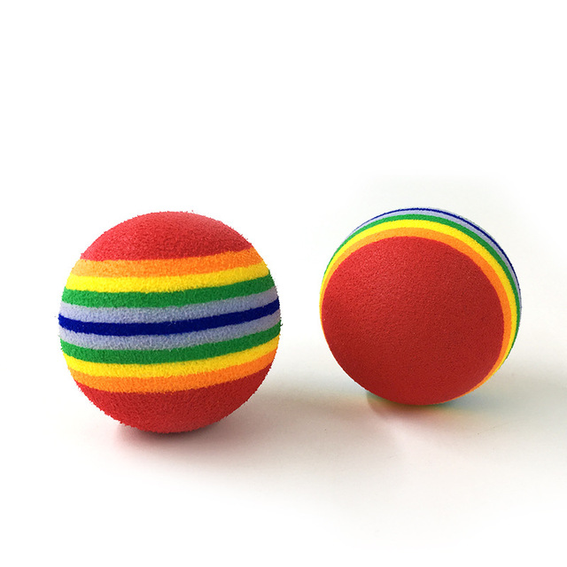 Rainbow Colored Pet Ball