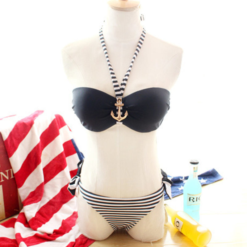 NODELAY Sexy Bandeau Bikinis Әйелдер 2019 Боялған - Спорттық киім мен керек-жарақтар - фото 5