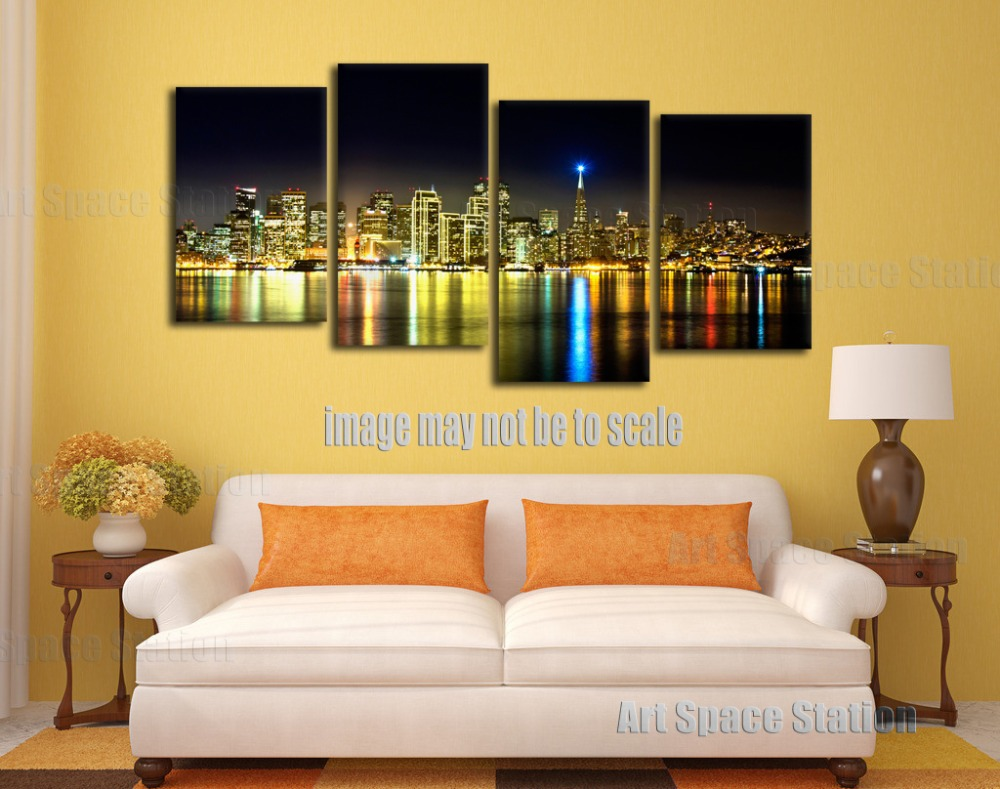 Magnificent Wall Art Skyline Gallery - The Wall Art Decorations ...