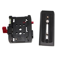 Quick Release Plate QR Clamp Adapter Mount For Manfrotto 501 500AH 701HDV 503HDV Drop Shipping