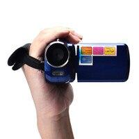 Niebieski 1.8 Cal TFT 4X Zoom Cyfrowy Mini Kamera Wideo NEW Fashion 17Otc16