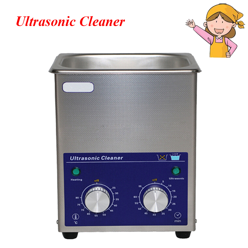 New 1.3L AC110/220V 80W Stainless Steel Digital PCB Mechanical Jewelry Ultrasonic Cleaner with Basket 15l stainless steel digital ultrasonic cleaner with timer and heater including washing basket