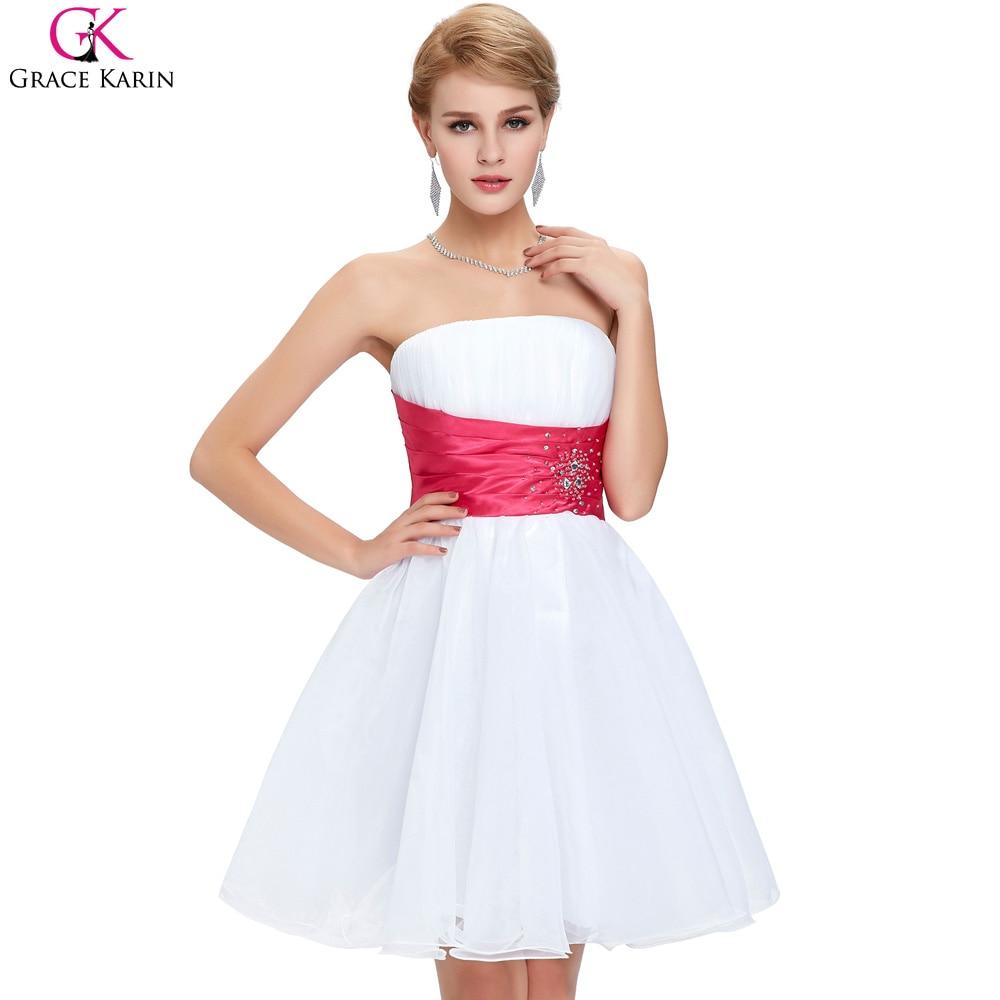 Online Get Cheap Bridesmaid White Dresses -Aliexpress.com ...