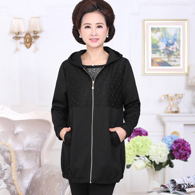 Plus size Middle-aged and old coat jacket The new 2016 listed fashion generous jack PH8008 ...