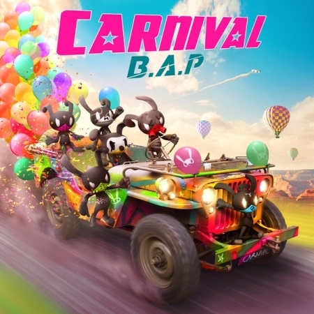 купить [NORMAL VERSION] B.A.P BAP 5TH MINI ALBUM - CARNIVAL + 1 Random Photocard + 40p Photobook Release Date 2016.02.23 KPOP недорого