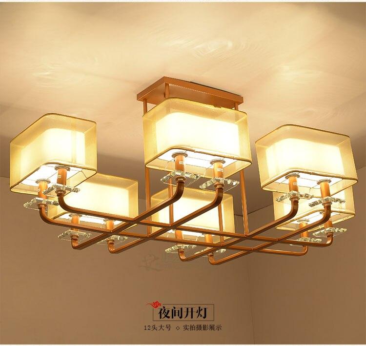 Giardino semplice lampadario di ferro ristorante lampade for Studio in camera da letto