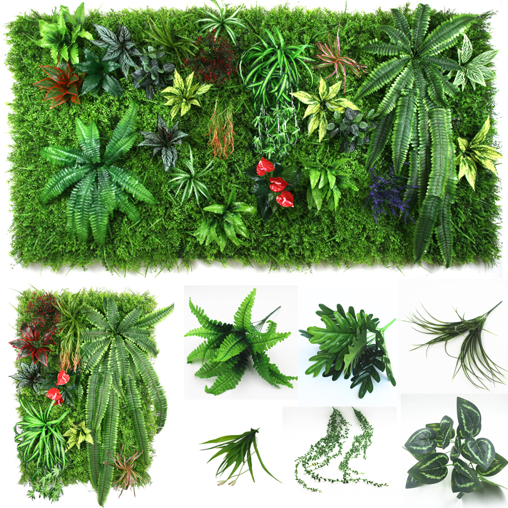 Popular artificial grass wall decor buy cheap artificial for Artificial grass decoration